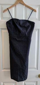 Merona strapless denim dress, size 8